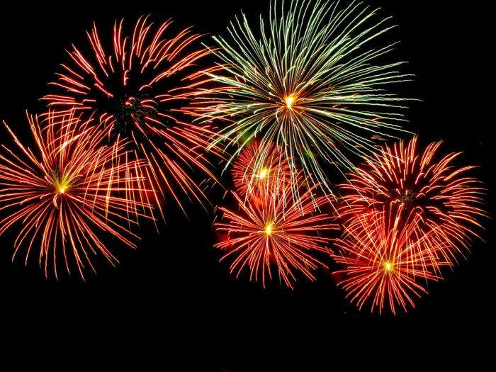 2. Beckley's fireworks