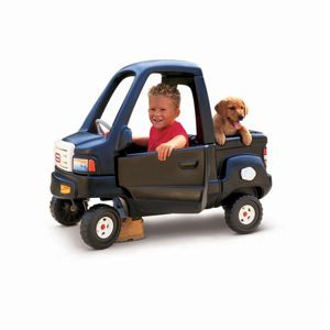 Little Tikes Classic Pickup Truck... can't wait until this project is done. My little guy will love it!