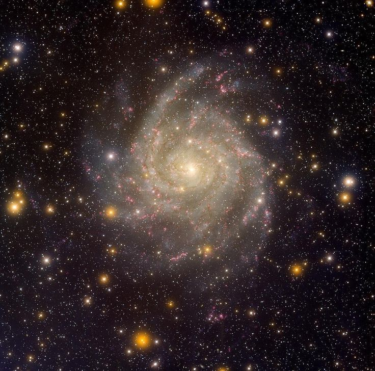 67 отметок «Нравится», 2 комментариев — @astrophysics_seven в Instagram: «Hidden Galaxy IC 342 Similar in size to large, bright spiral galaxies in our neighborhood, IC 342…»
