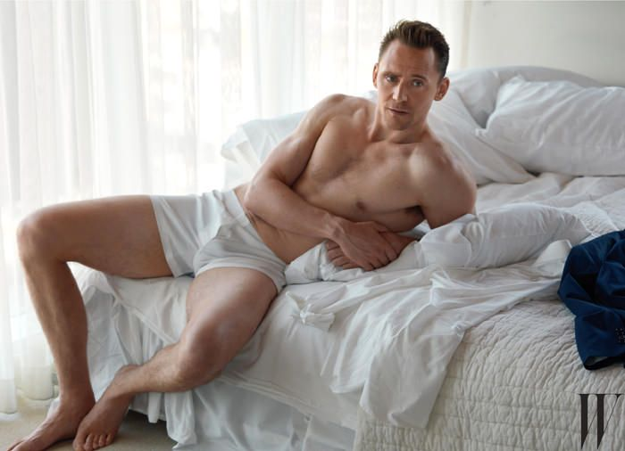 Tom Hiddleston is featured in the latest issue of W magazine photographed by Mona Kuhn.  We don't know about you, but we feel like we're supposed to