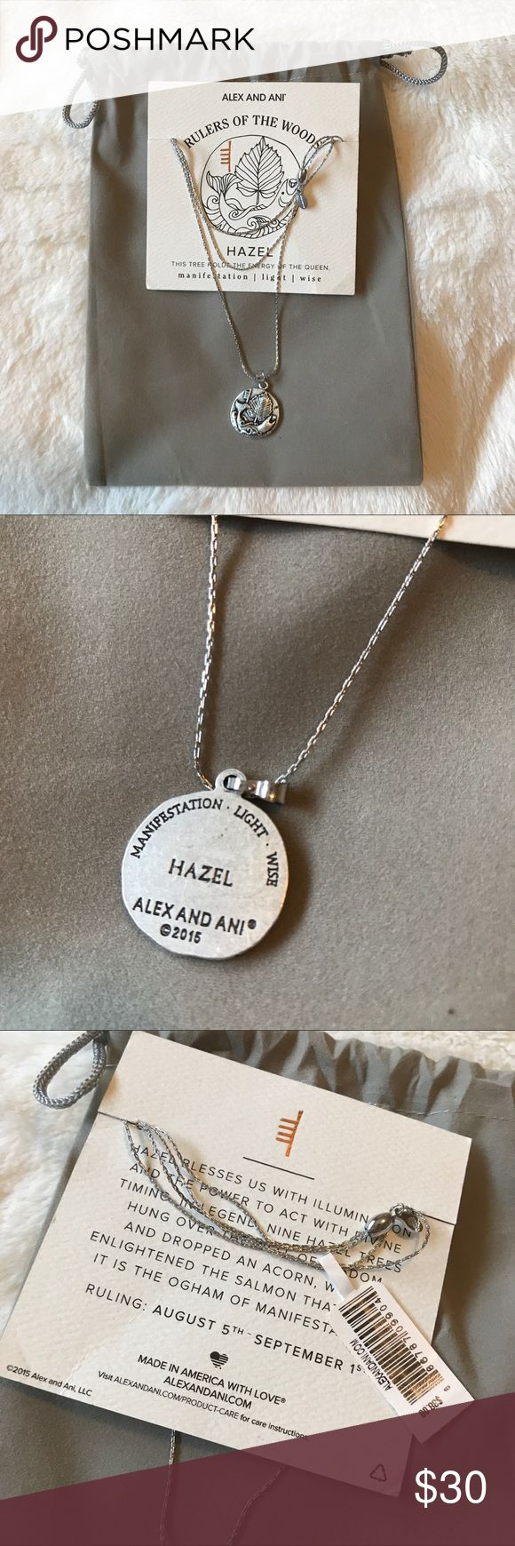Alex and Ani Rulers of the Woods Hazel Necklace Alex and Ani adjustable necklace. This is the Rulers of the Woods necklace from 2015. Brand new with tags. Comes in Pouch shown in photo. Alex And Ani Jewelry Necklaces