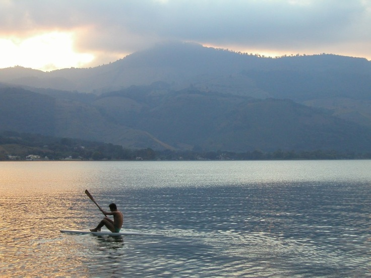 Unravel the mystery of a hidden gem in Guatemala that gets almost no credit. - Amatitlan Lake http://travelexperta.com/2009/06/beautiful-lago-amatitlan-guatemala-photo-friday.html #guatemala #lake #amatitlan