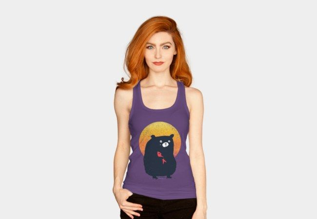 Summer Bear Tank Top - Design By Humans