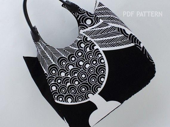 The Anita Shoulder Bag - PDF Sewing Pattern