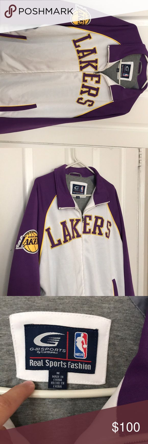 Lakers Jacket Great condition Men's Medium Lakers Jacket Jackets & Coats