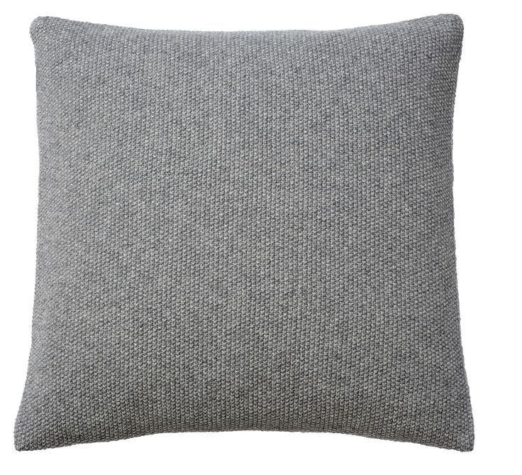 SeedStitch cushion, light grey/silver