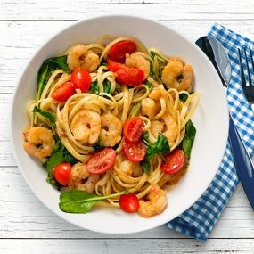 Easy Tuscan Shrimp Scampi