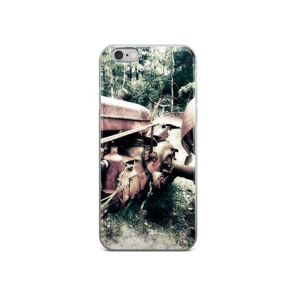 Antique Tractor iPhone 5/5s/Se, 6/6s, 6/6s Plus Case  #tractor #country #farm #countryliving #love #beautiful #rustic
