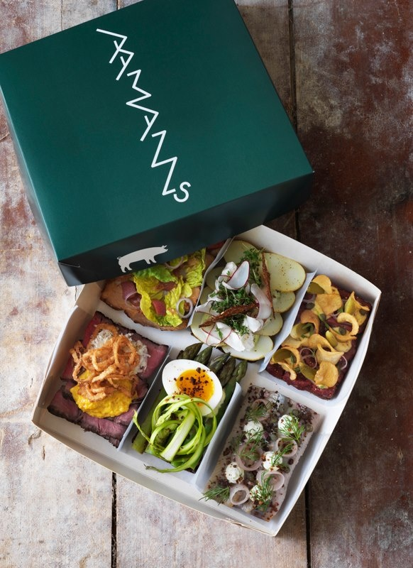Aamanns delicious open-faced sandwiches