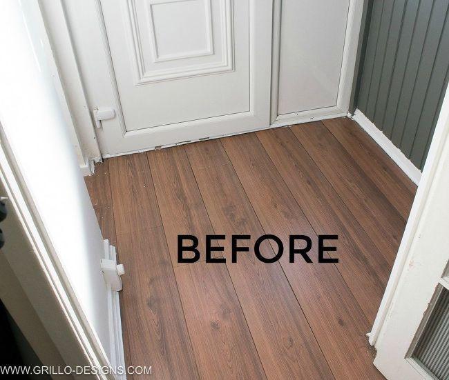 Wallpapering A Floor Diy Flooring Flooring Flooring Trends