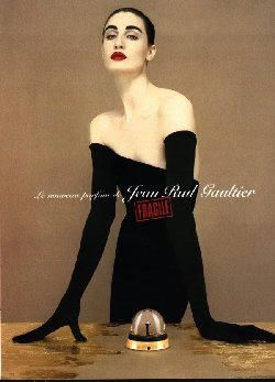 Fragile by Jean Paul Gaultier Erin O'Connor (2000).