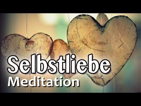 Geführte Meditation: Selbstliebe | Liebe zulassen | Öffne dein Herz-Chakra - YouTube