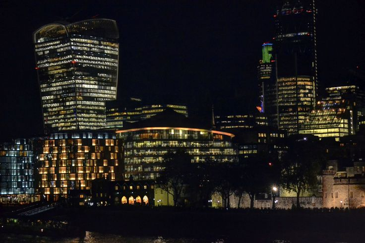 London is by far the most beautiful city at night. During the day is not that shabby either.