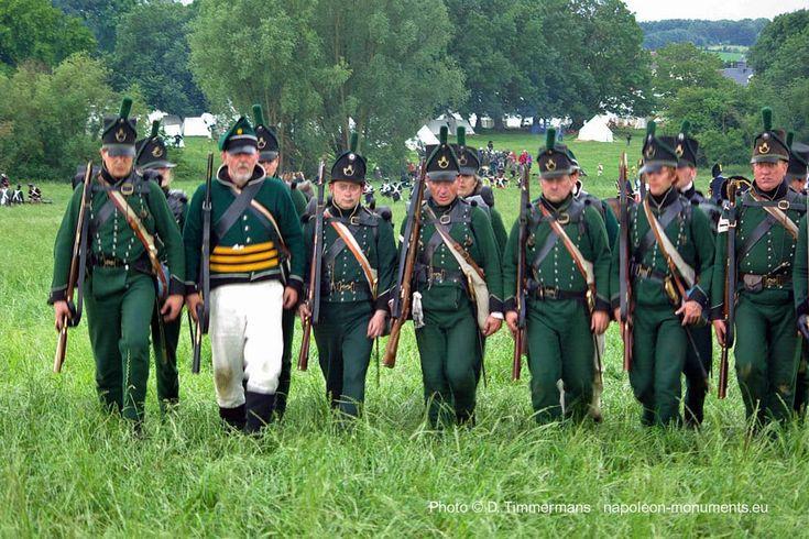 95th Rifles at Waterloo  [Reenactment 2011]