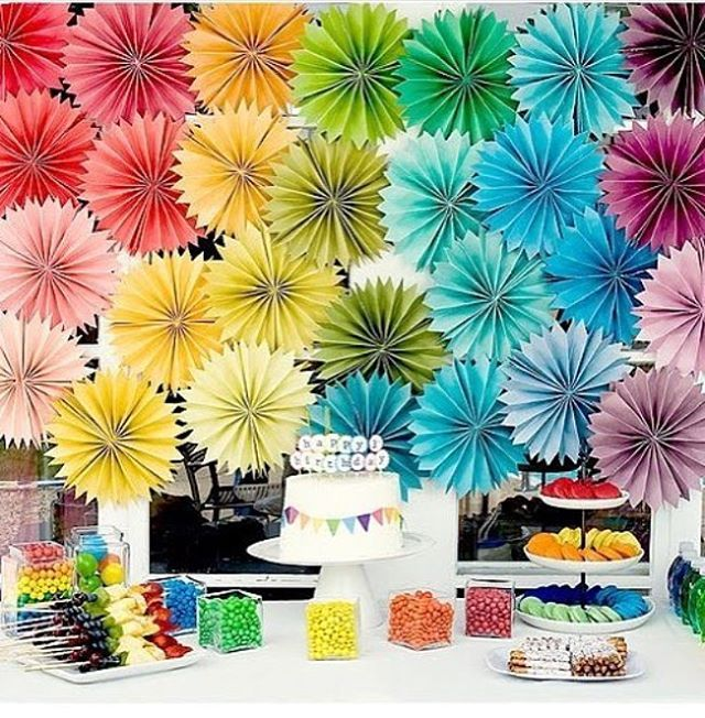 Festa linda e super colorida, adorei o painel! #regram @srafesta ❤️ #kikidsparty