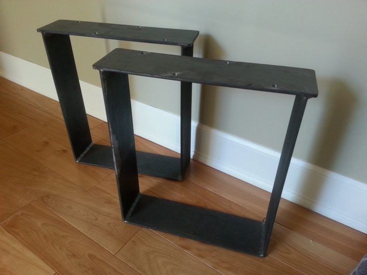 Best 10 bench legs ideas on pinterest metal furniture legs welding table - Patte de table metal ...