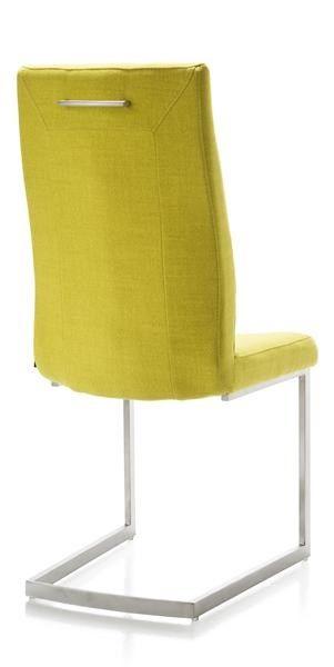 Malene Chaise Pied Traineau Inox Carre Avec Poignee Chair