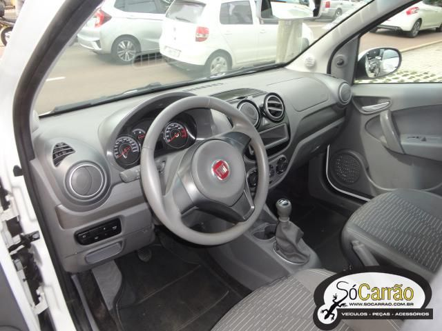 Fiat PALIO ATTRACTIVE 1.4 4P Branca 2014 - Flex - SóCarrão Curitiba - 2505321