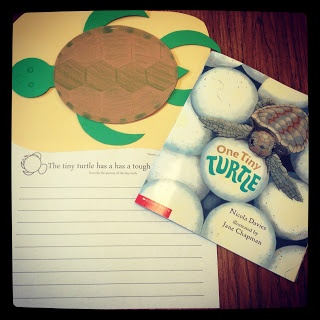 One Tiny Turtle craft & writing