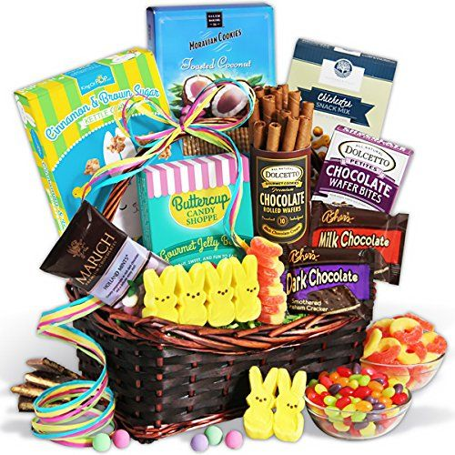 13 best whats in your easter basket images on pinterest easter easter sweets treats basket gourmetgiftbaskets httpamazon negle Choice Image