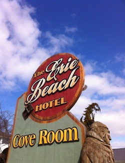 The old Erie Beach Hotel in Port Dover, Ontario, Canada.  Make sure to try the fresh perch!