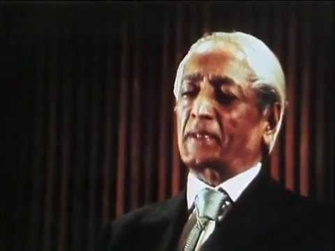 Krishnamurti - 'What is Meditation - Why one should meditate at all .?  https://www.youtube.com/watch?v=lW96eZsR710