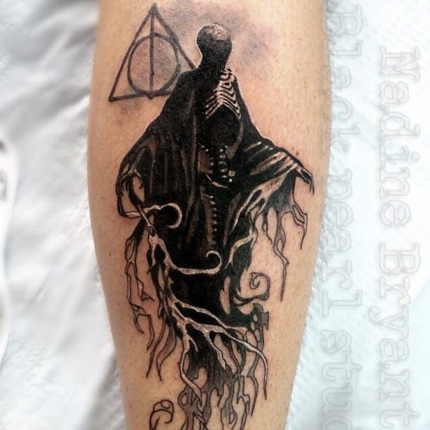 Harry Potter dark tattoo from tattoodo.com