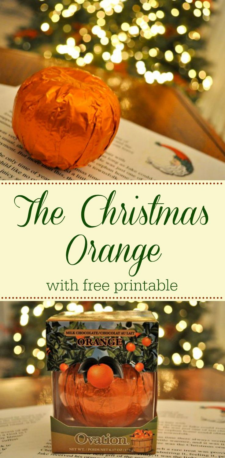The Christmas Orange - A tender-hearted story about the Spirit of Christmas - Simple Sojourns