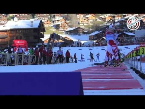 Timelapse - Annecy Grand Bornand Biathlon World Cup  Coupe du Monde de biathlon d'Annecy Le Grand Bornand (2013)