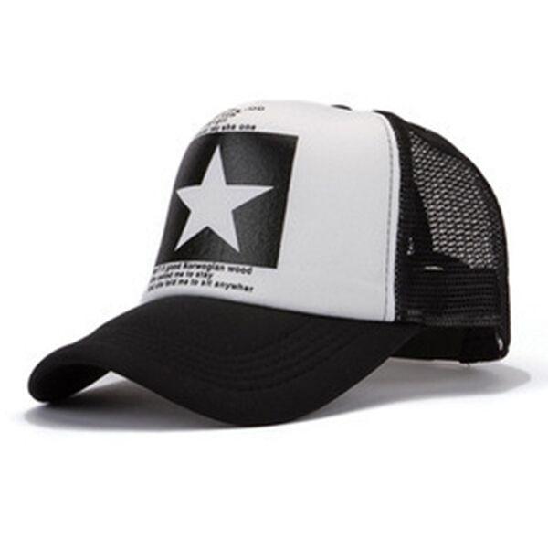 Nuevo 2014 Súper Grandes Estrellas tapa Sombrero de béisbol Otoño-verano snapcap tapas Hombres mujeres hiphop gorras deportivas gorras casquillo del sombrero