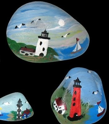 Lighthouses via Google Search