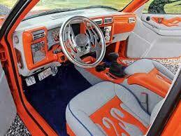 Custom dashboard / interior