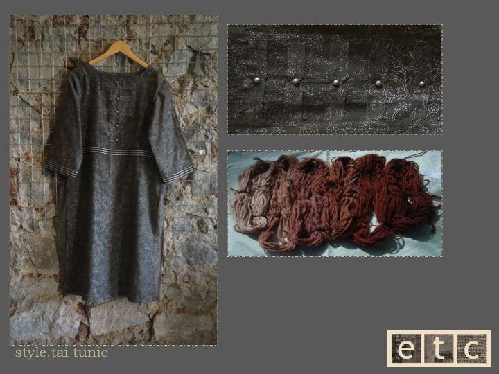 Natural Dyes | Tia long tunic