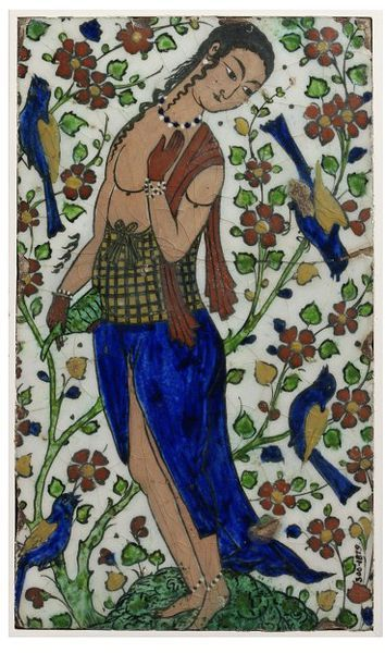 Tile      Place of origin:      Iran (made)     Date:      ca. 1600-1640 (made)     Artist/Maker:      Unknown (production)     M...