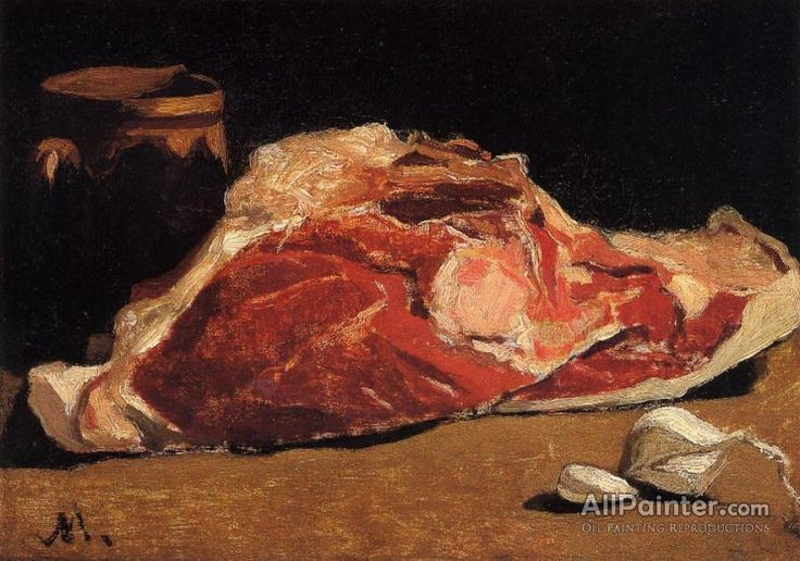 Claude Monet Still Life With Meat oil painting reproductions for sale