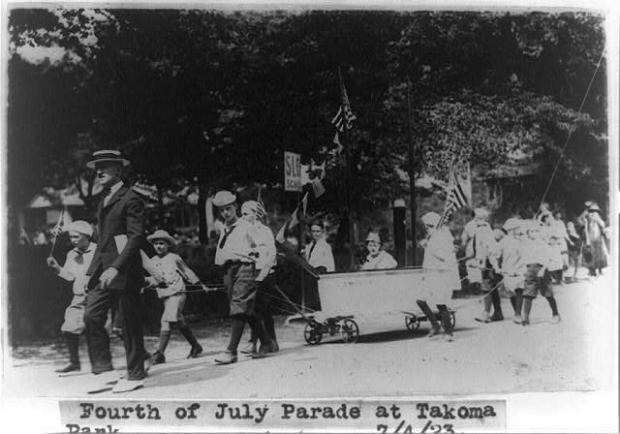 4th july parade takoma park