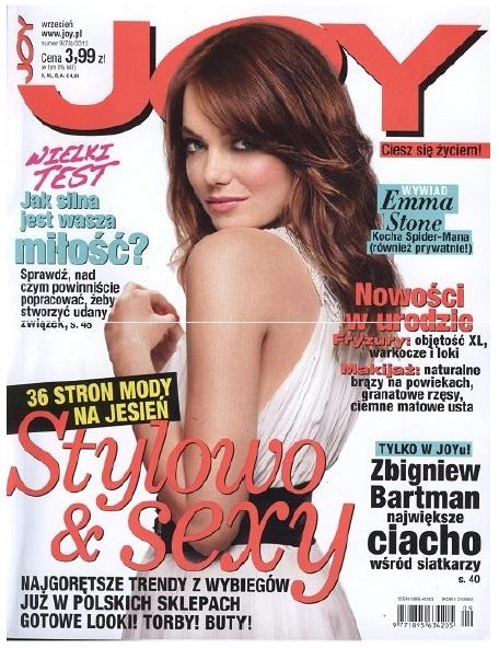 Joy August 2012  www.sequinshoes.pl