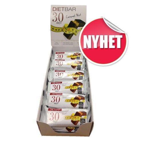 30 Days Diet Bar Nøttekaramell 18 stk fra Almea. Om denne nettbutikken: http://nettbutikknytt.no/almea-no/