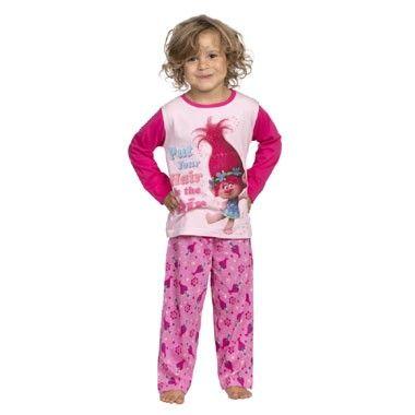 Trolls 2-delige meisjes pyjama - 116/122  Heerlijk slapen in deze zachte pyjama van Trolls. De broek en top zijn roze van kleur en versierd met een mooie afbeelding van Poppy.  EUR 4.98  Meer informatie