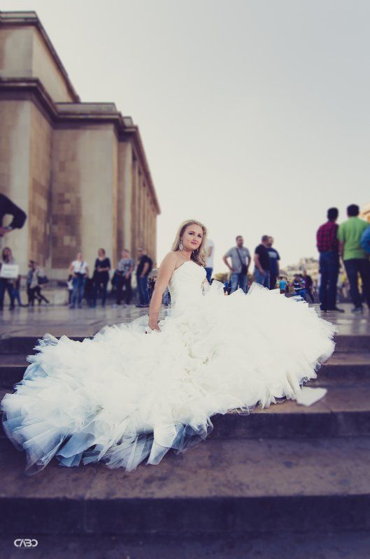 Trash the dress - Sedinta after wedding Bucuresti