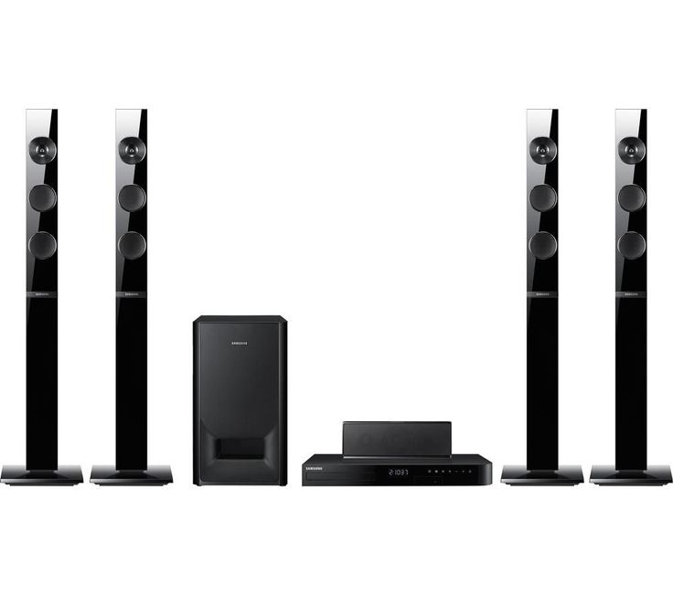 SAMSUNG  HT-J5150 5.1 Blu-ray & DVD Home Cinema System Price: £ 199.00 Get cinema-quality surround sound, courtesy of the Samsung HT-J5150 5.1 Blu-ray and DVD Home Cinema System's four powerful tallboy speakers. Surround sound Position the tallboy speakers anywhere in the room and enjoy superior surround sound at home. Delivering 1000 W of power, the HT-J5150 includes a wired subwoofer to...