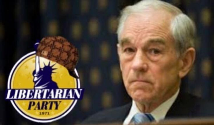 The Libertarian Party Won't Let Ron Paul Speak at Their National Convention