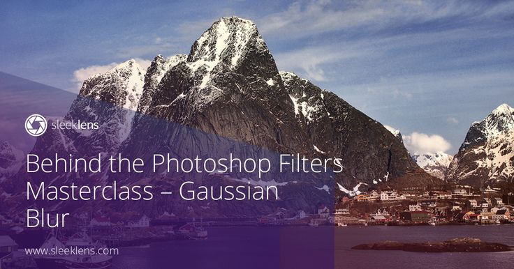 """In the segment of """"Behind Photoshop Filters"""", learn more about Gaussian Blur."""
