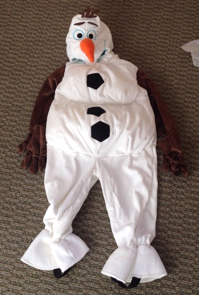 NEW! DISNEY STORE FROZEN OLAF THE SNOWMAN 18-24 Mths Baby COSTUME Anna Elsa