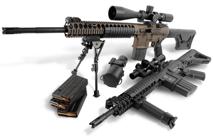 LWRC SABR - Close Quarters and Sniper capability with the change of a barrel