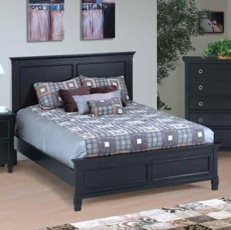 new classic tamarack queen panel bed in black 00 045 315 kelly possibilities pinterest. Black Bedroom Furniture Sets. Home Design Ideas