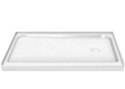 Maax  60  x 30  Single Threshold Rectangle Base  Right Drain at. 56 best Showers images on Pinterest