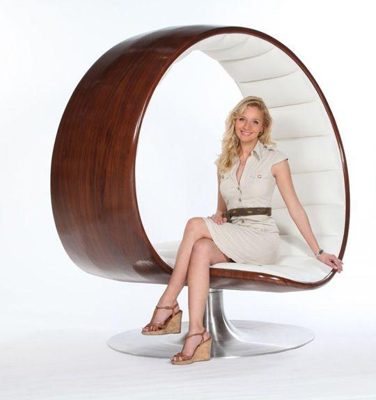 Intymny fotel dla dwu osób