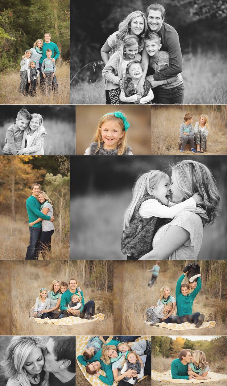 It's always so much fun, and such an honor to photograph another photographer's family. This group did not disappoint!!