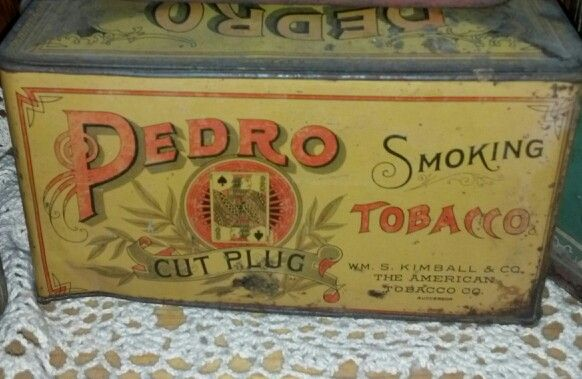 17 best images about vintage tobacco tin collection on